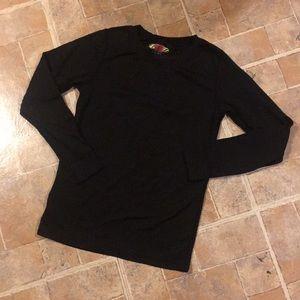 Terramar long sleeve compression shirt boys large
